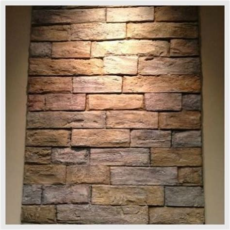 Fake Exposed Brick Wall by 1000 Images About Faux Brick Ideas On Pinterest Faux
