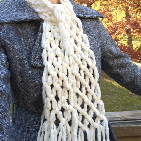 no knit scarf no knit scarf i made