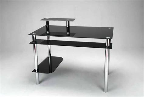 limble ii glass computer desk glass black computer desk best home design 2018