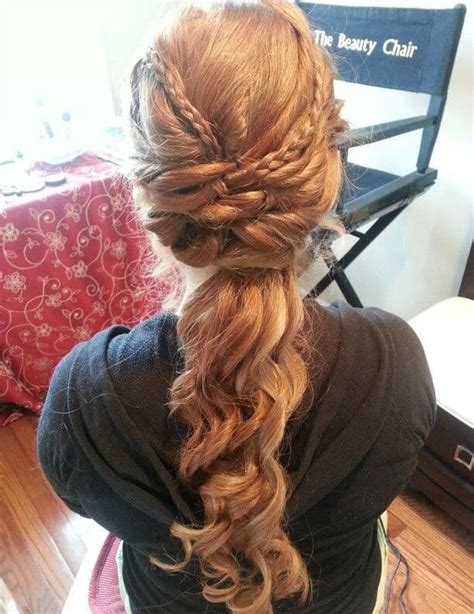 christmas hairstyles for long hair 22 awesome graduation hairstyles collection sheideas