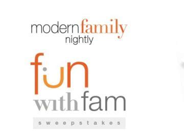 Modern Family Sweepstakes - modern family fun with fam sweepstakes