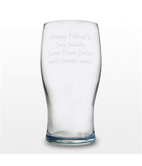 pint glass personalised pint glass just for gifts