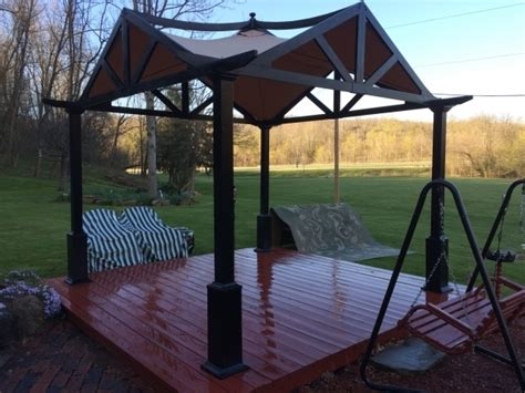 garden treasures square pergola pergola gazebo ideas