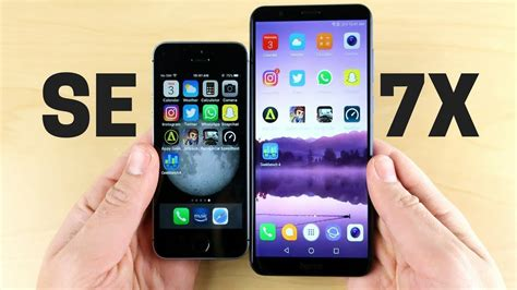 iphone se  honor  speed test youtube
