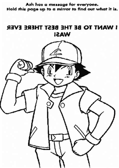 pokemon coloring pages lent ash 2 colouring pages