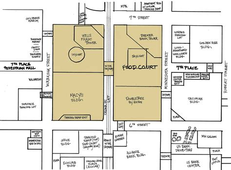 layout of rosedale mall rosedale mn map