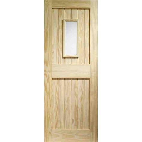 Pine Exterior Doors Home Entrance Door Glazed Entrance Doors