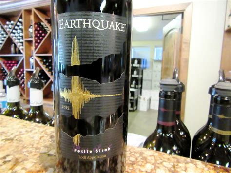earthquake zinfandel 2013 michael david winery earthquake petite sirah 2013 shows