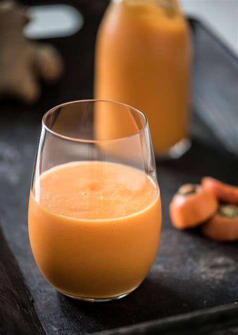 Blender Wortel mango wortel smoothie met gember voedzaam snel