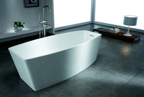 solid surface bathtubs ciciano modern luxury free standing artificial stone