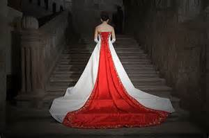 White wedding dresses are said to represent purity fidelity and