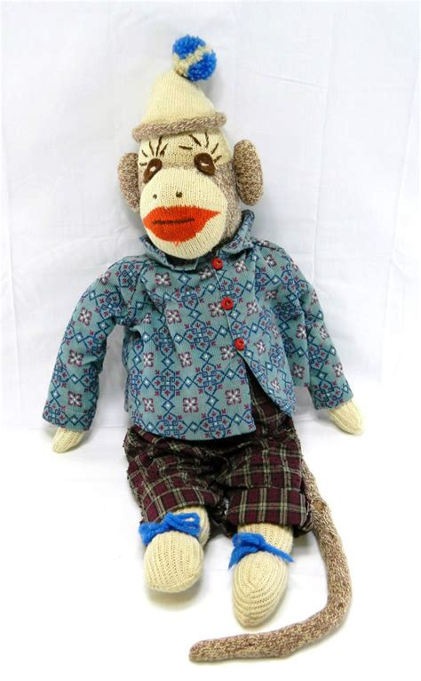 sock monkey clothes 1000 images about sock monkey mania on