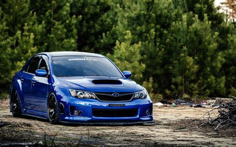 Subaru Wrx Tuning Subaru Impreza Wrx Sti Ruote Tuning Auto Hd Sfondo