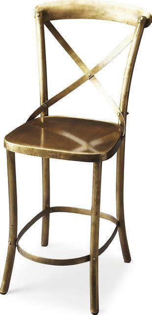 Bennington Furniture Bar Stools by Butler Bennington Bar Stool Antique Gold View In Your