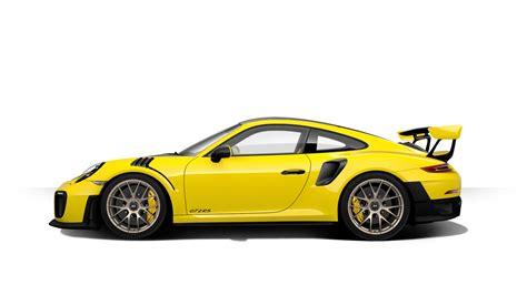 porsche yellow 2018 porsche 911 gt2 rs configurator launched gtspirit