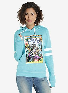Funko Sw Thing Sw Thing Flocked Fu7071 wars comic womens hoodie boxlunch