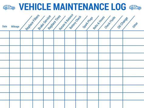 vehicle care log best 25 vehicle maintenance log ideas on auto