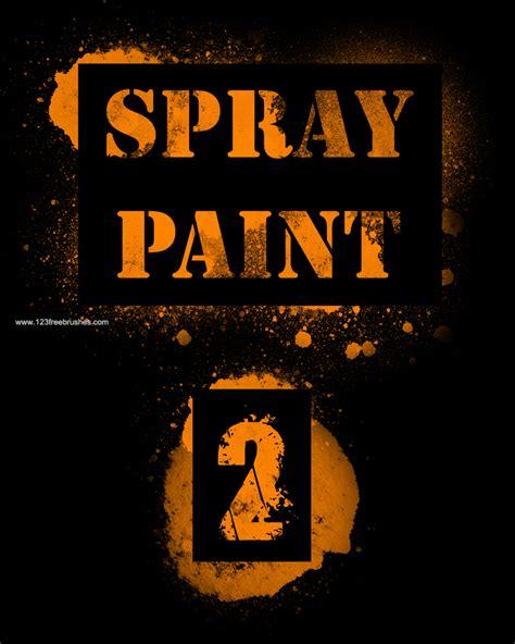 grunge spray paint font spray paint 10 adobe photoshop brushes free