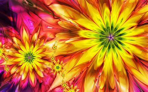 ci de fiori colorful flowers 3d hd flowers wallpapers