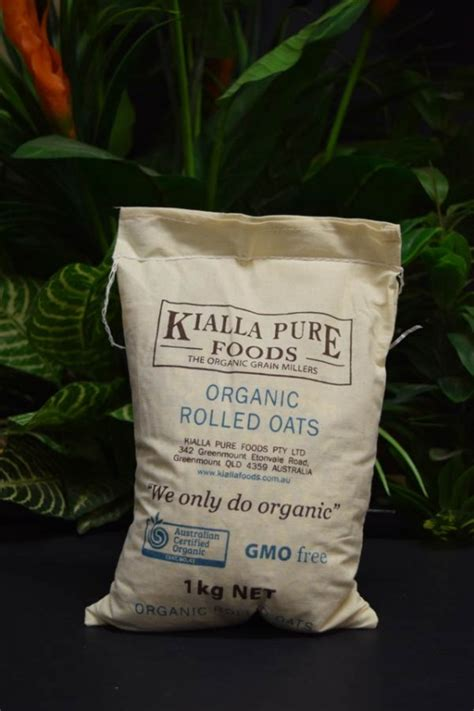 Rolled Oats 1 Kg By 4foglioshop org kialla rolled oats 1kg organic and quality foods
