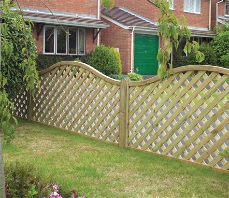Fencing And Trellis Grange Elite St Meloir 6ft X 3 5ft Trellis Panel