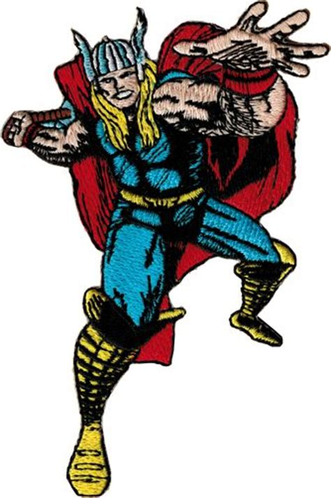 thor swinging hammer thor swinging hammer reaching forward patch