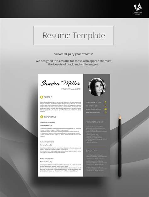 stunning graphic design resume template 110 best images about cv template on cv ideas cover letters and creative resume