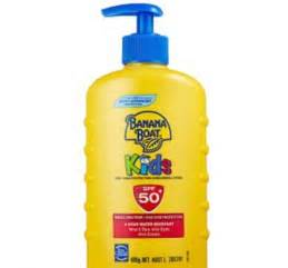 banana boat sunscreen not working banana boat 50 sunscreen sees children suffer burns