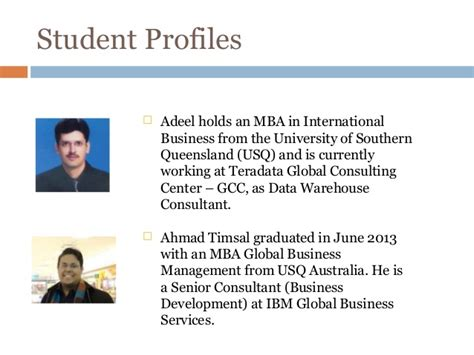 Usq Mba Project Management usq mba 2015 powerpoint