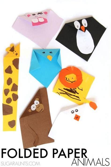 Folding Paper Animals - beautiful folded paper animals crafts beautiful