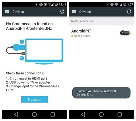 resetting wifi chromecast how to change wi fi network on chromecast androidpit