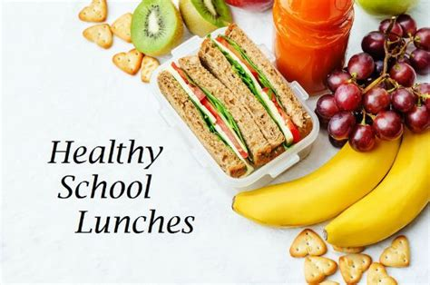 Detox School Lunches by Healthy School Lunches