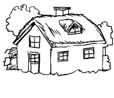 colorare casa disegni per bambini da stare e colorare paesaggi by