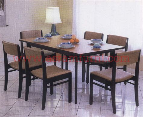 Meja Makan Ligna siro dining table asram furniture