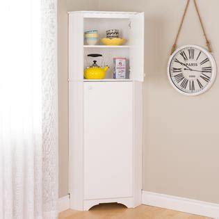 elite tall 1 door corner storage cabinet white prepac manufacturing ltd elite white tall 2 door corner