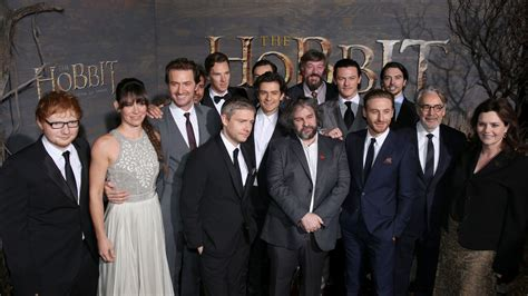 cat crew inside the hobbit the desolation of smaug premiere