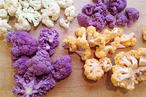 colored cauliflower organic colored cauliflower produce