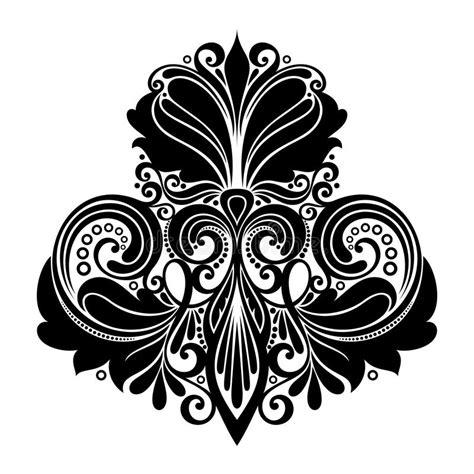 design elements symmetry vector symmetrical design element stock vector image