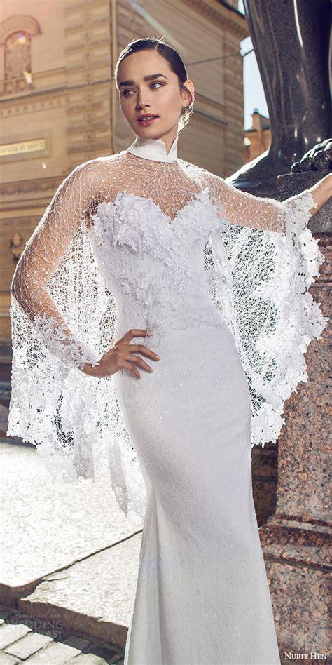Dominiq Dress White Zv nurit hen 2016 wedding dresses white bridal collection wedding inspirasi