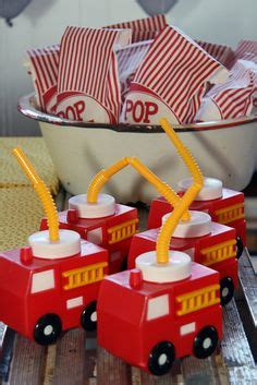 fire up theme junkie firetruck theme birthday party ideas favors fire hydrant