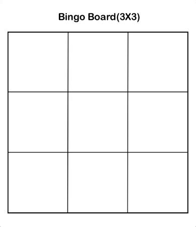 template to make a bingo card bingo card template 9 free word pdf jpeg vector
