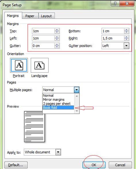 membuat layout buku dengan ms word cara membuat buku dengan microsoft word gusafira