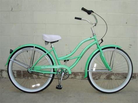 most comfortable beach cruiser green retro beach cruiser bike shopping list pinterest