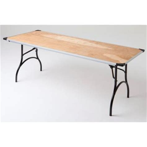 6 ft commercial plywood folding table prt3072ply21 the