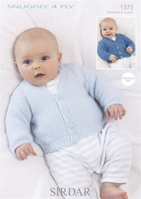 sirdar 4 ply baby knitting patterns sirdar 1373 knitting pattern baby cardigans in sirdar