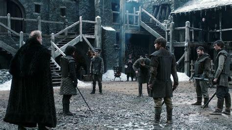 rockslide at castle black set disrupted season 6 filming