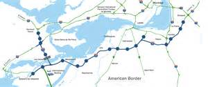 map of canada highways history of the trans canada across
