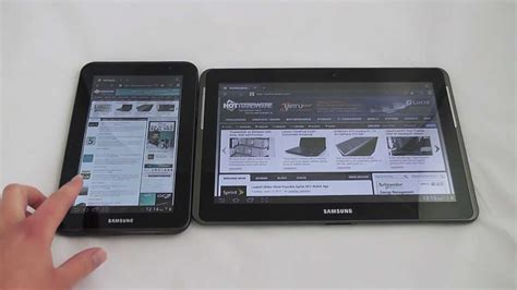 Tablet 2 Samsung 10 Inch samsung galaxy tab 2 10 inch and 7 inch android tablet preview hothardware