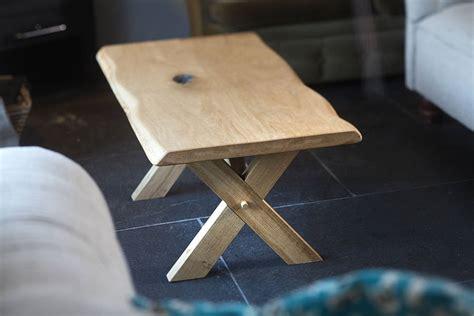 Handmade Table - handmade oak coffee table by the school carpentry
