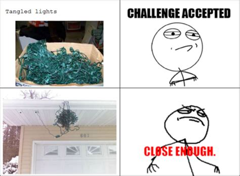 funny christmas lights close enough dump a day